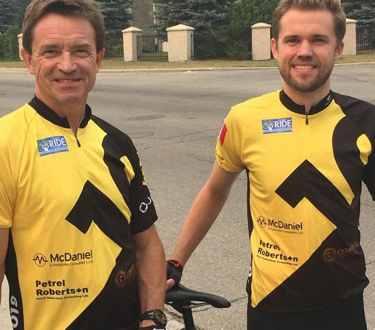 PRCL sponsored the Tom Baker Conquerors Cancer team on the Enbridge Ride to Conquer Cancer in 2018.
